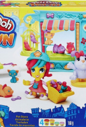 Hasbro Play-Doh Город Игровой набор Магазинчик домашних питомцев (B3418) PLAY-DOH